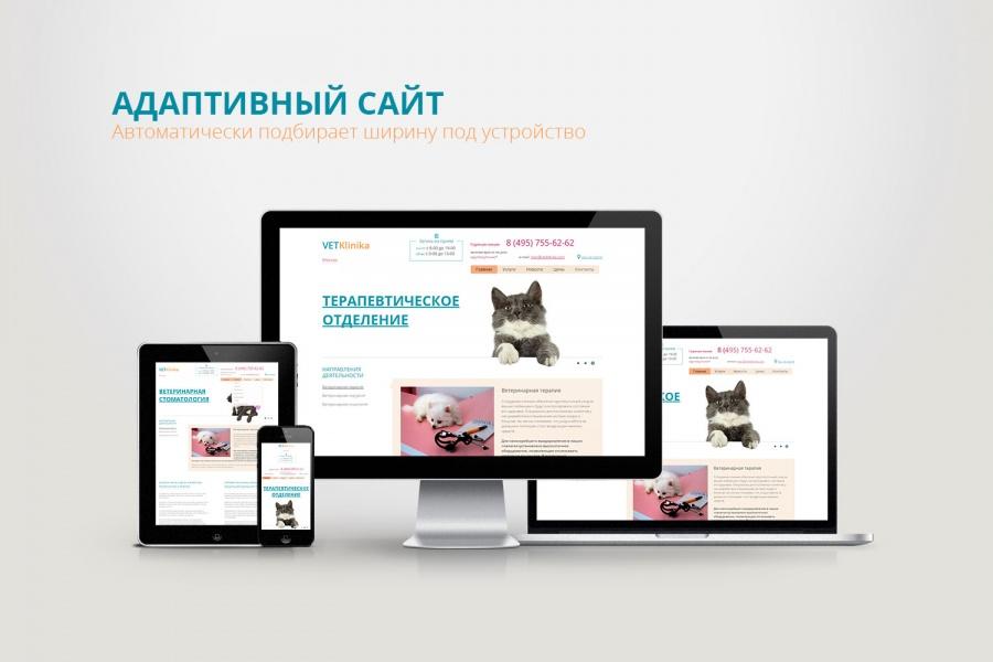 Примеры адаптивного дизайна сайта